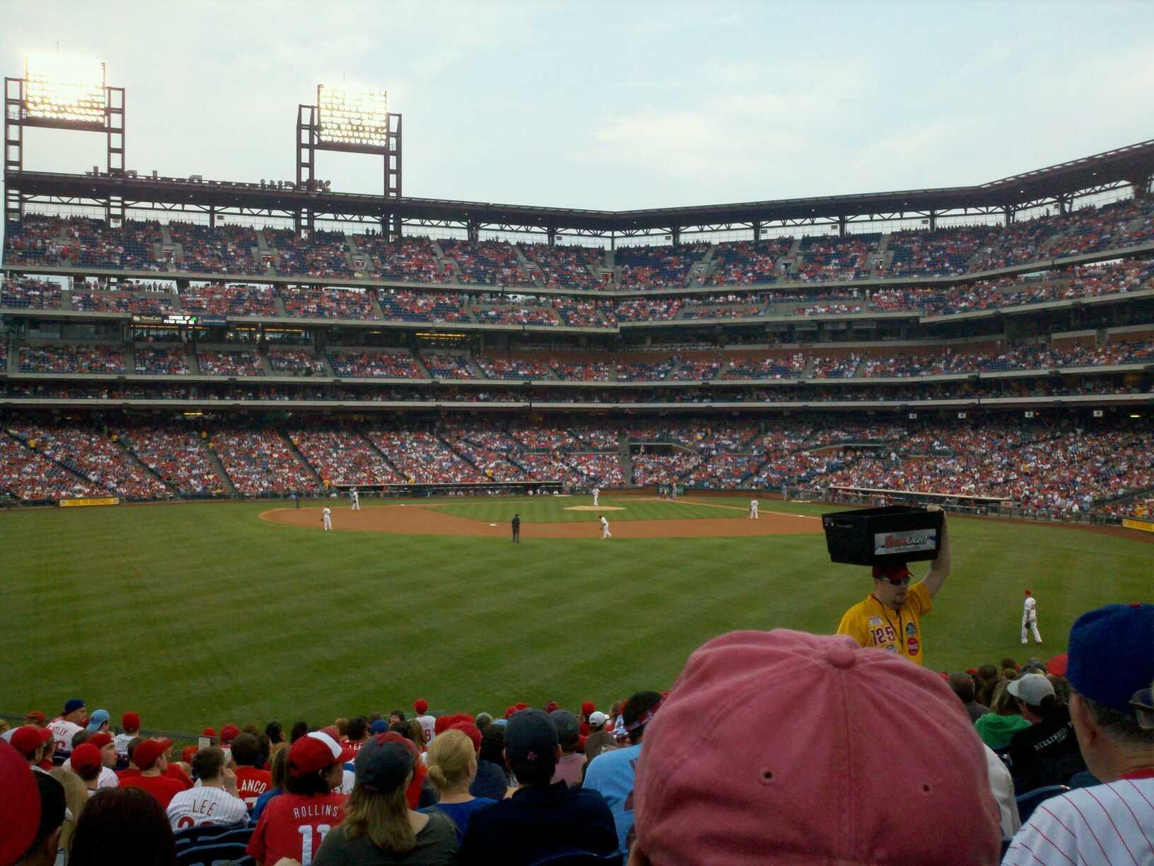 Citizens Bank Park Section 146 Row 20 Seat 8
