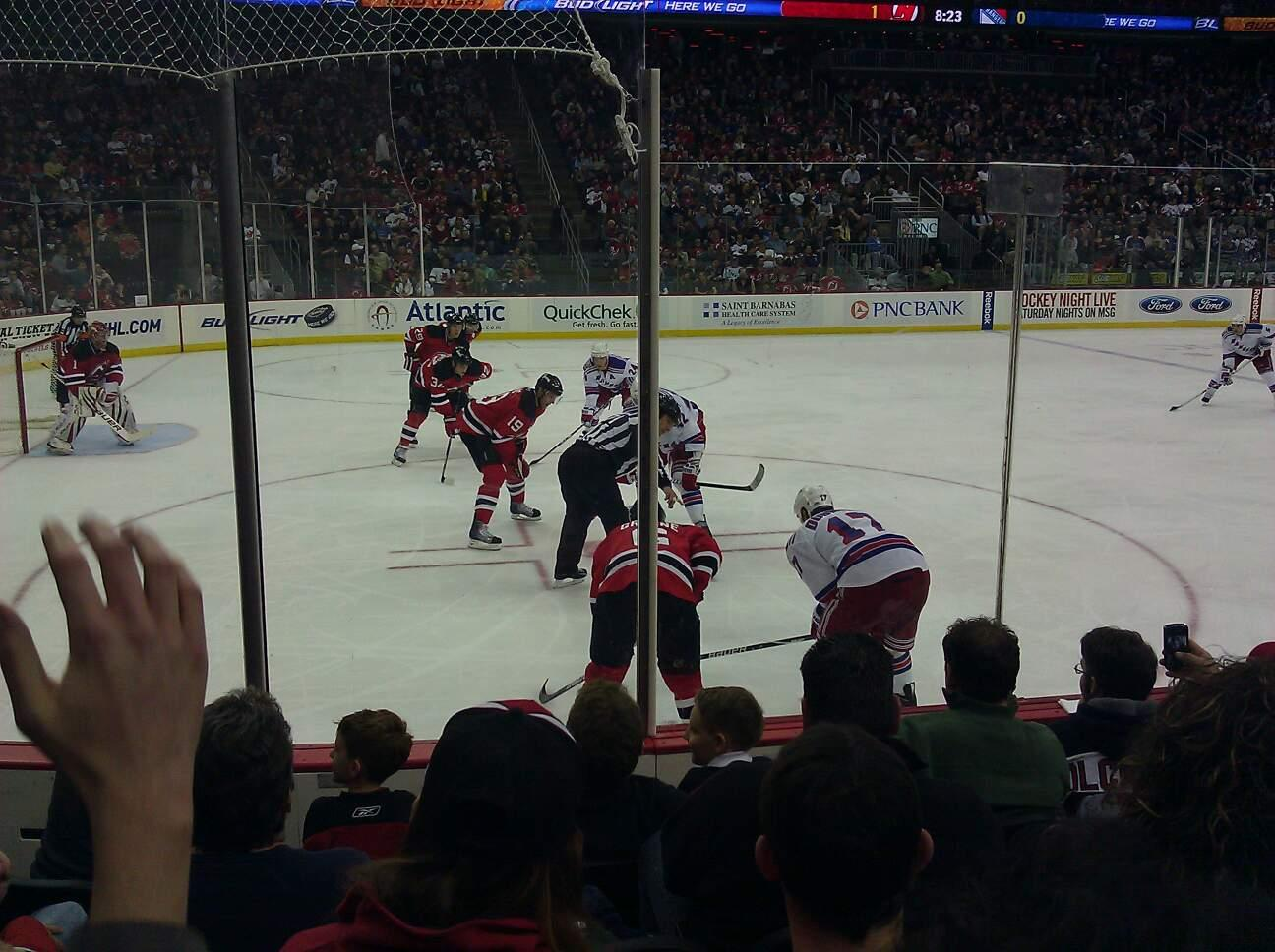 Prudential Center Section 6 Row 5 Seat 9