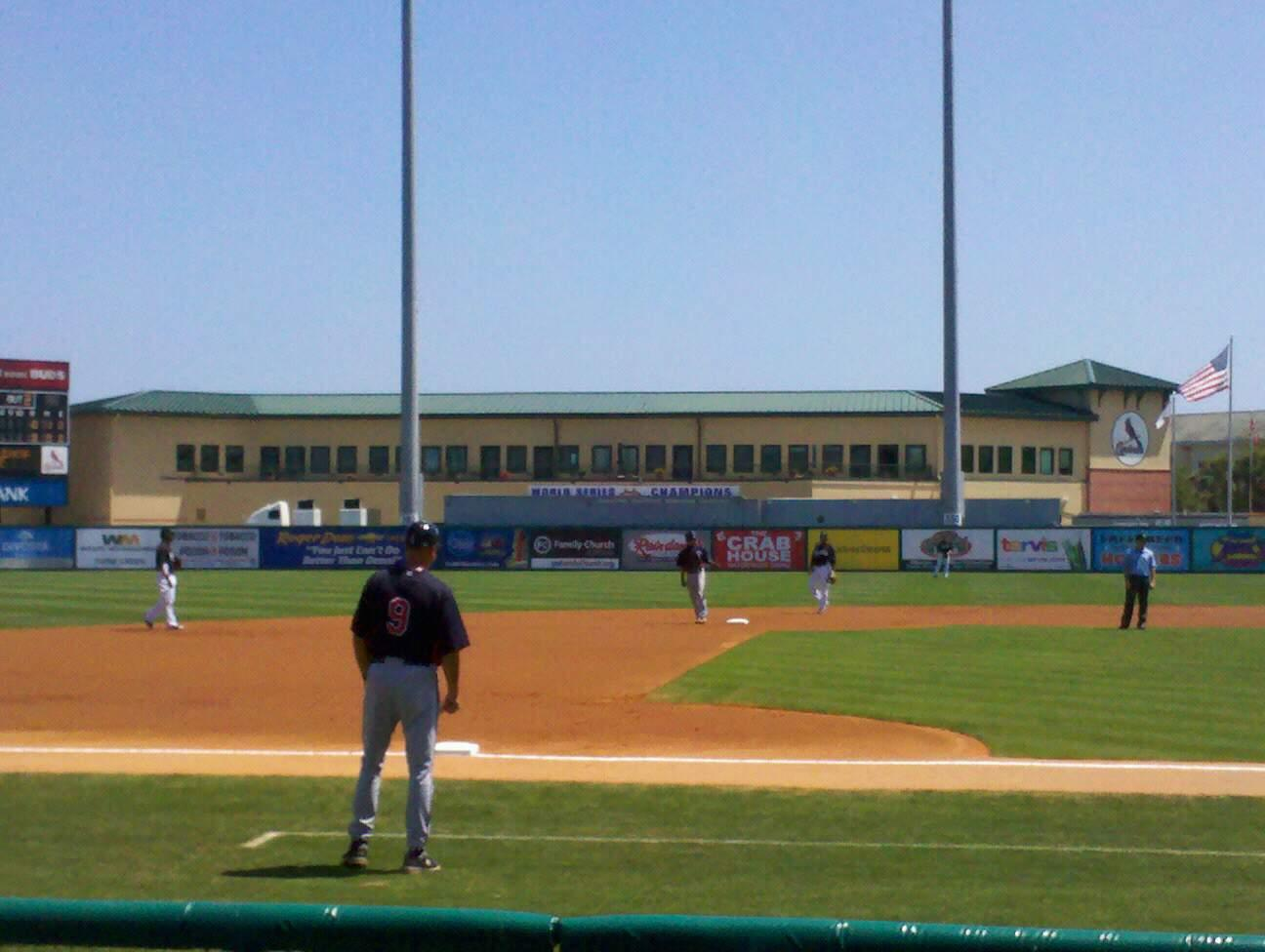 Roger Dean Stadium Section 119 Row 5 Seat 5