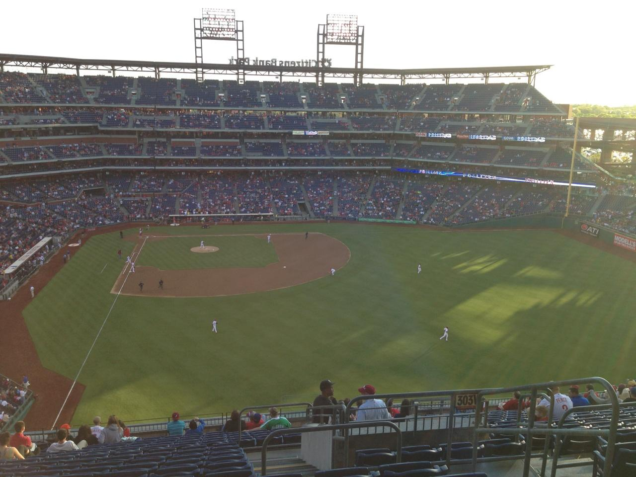 Citizens Bank Park Section 304 Row 18 Seat 4