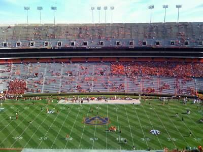 Jordan-Hare Stadium Section 54