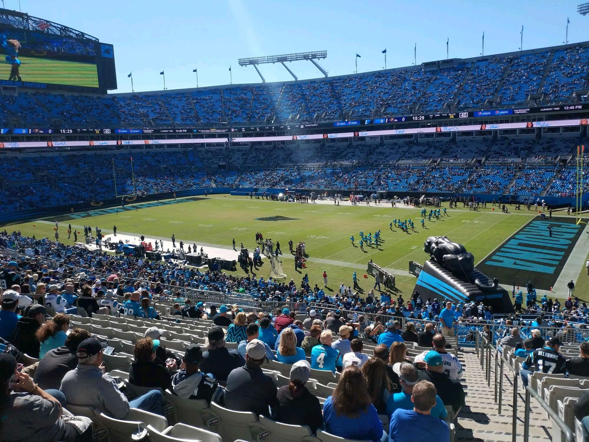 Bank of America Stadium Section 310