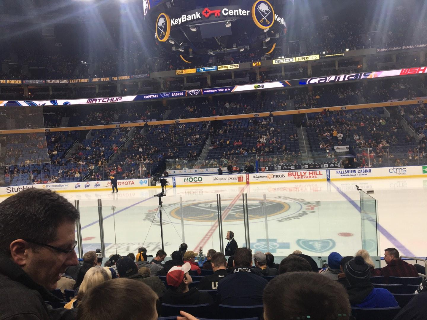 KeyBank Center Section 117 Row 12 Seat 4