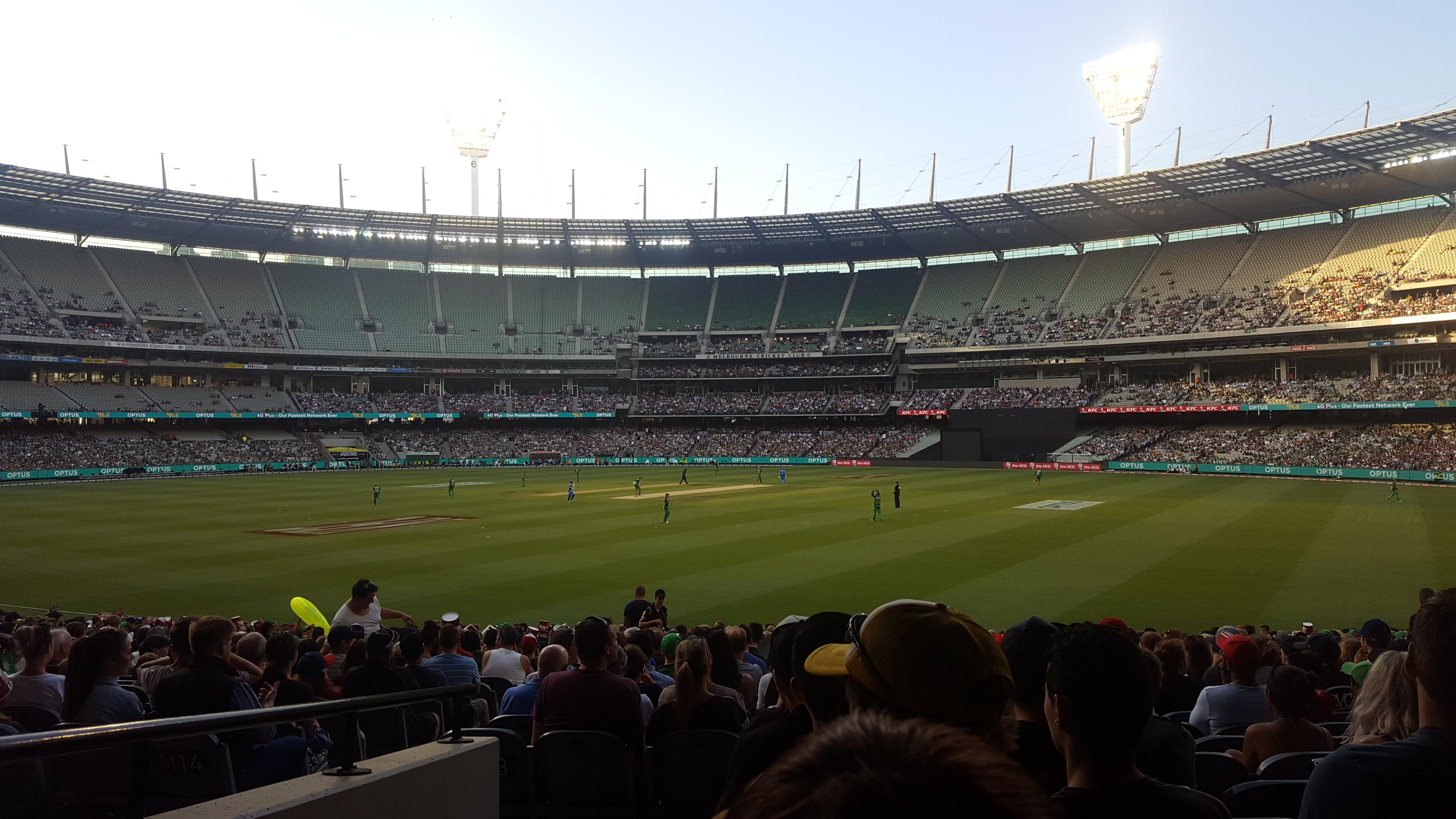 Melbourne Cricket Ground Section 13 Row U Seat GA
