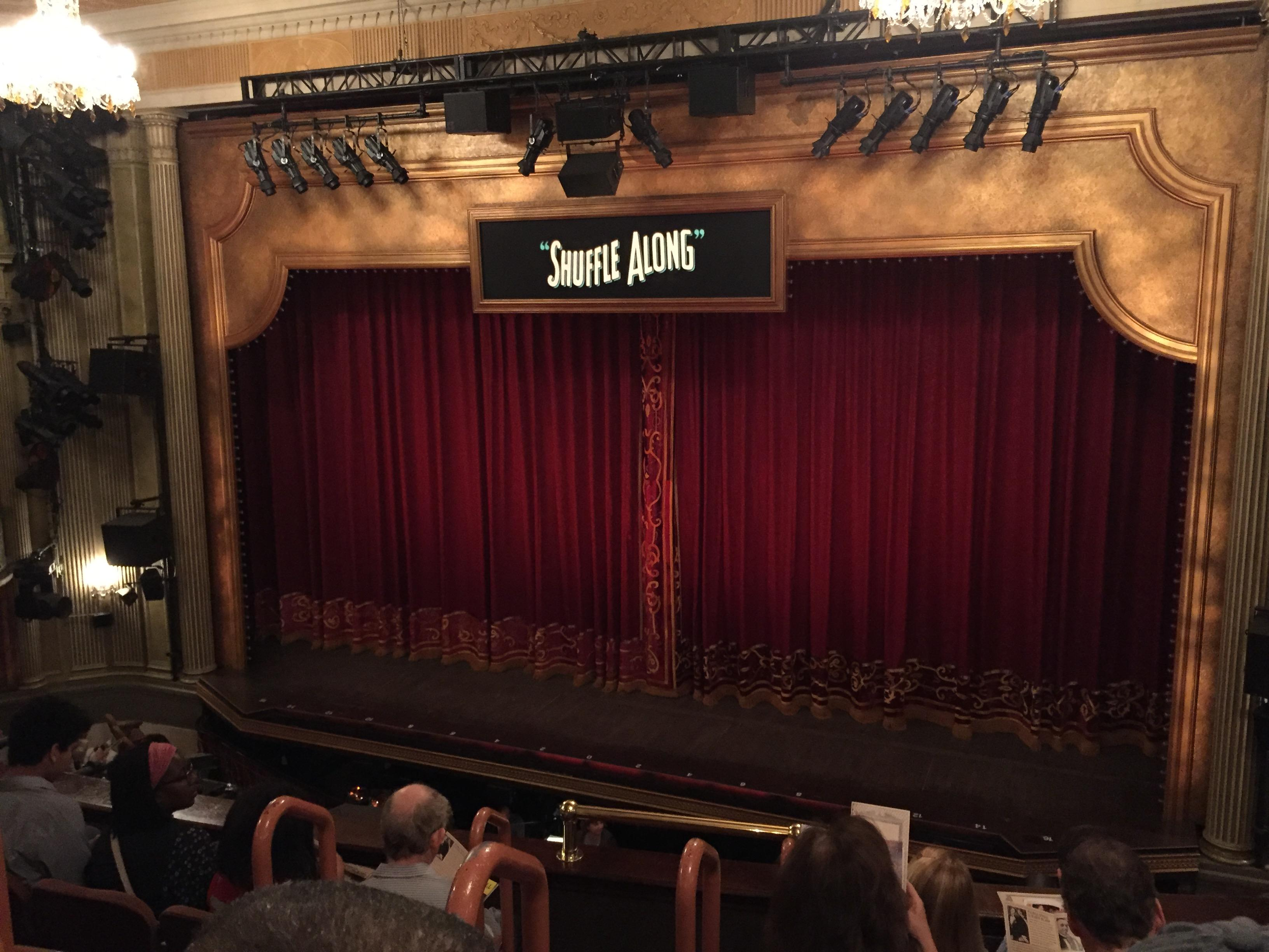 Music Box Theatre Section Mezzanine R Row E Seat 4
