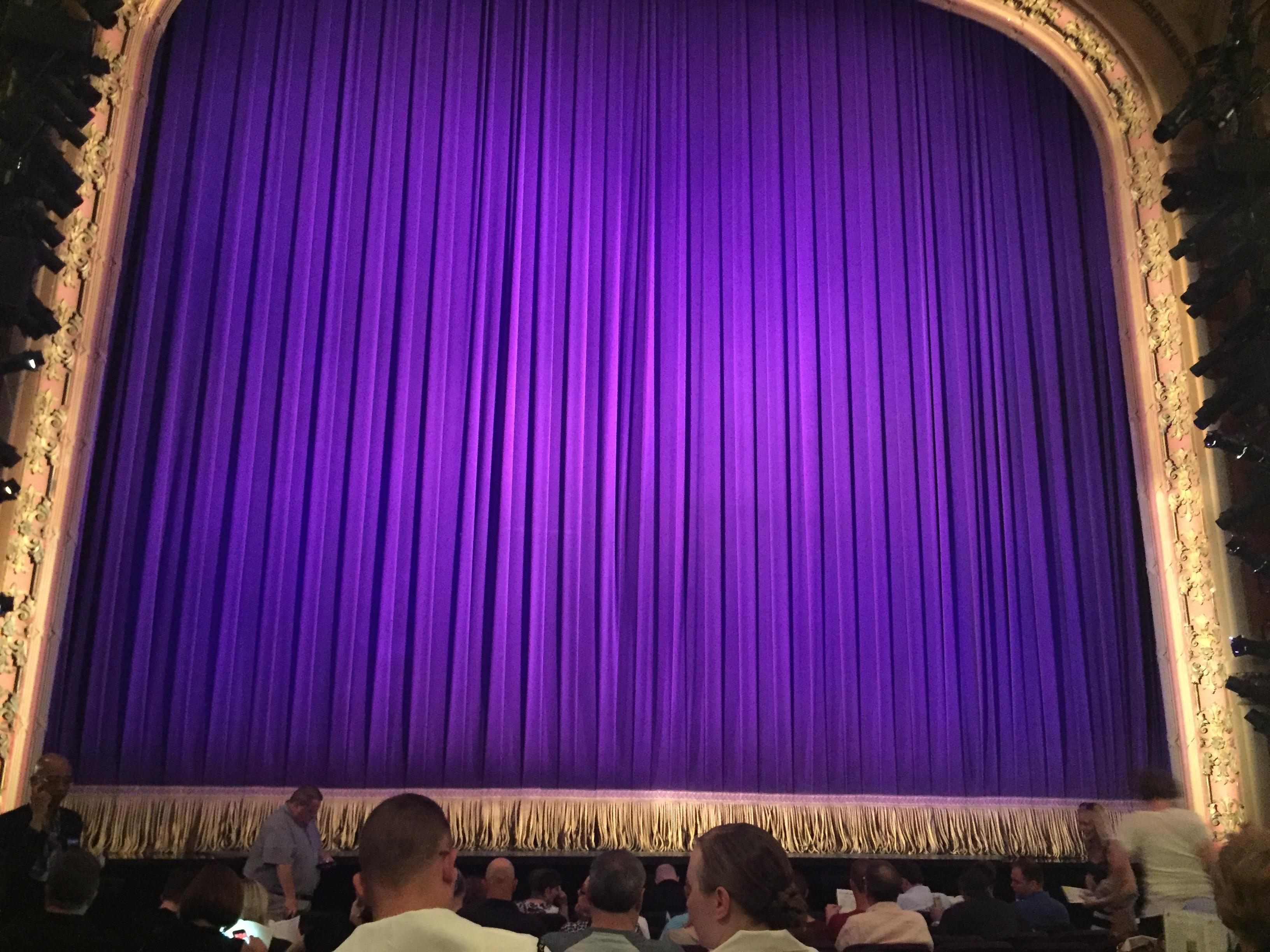 Lyceum Theatre (Broadway) Section Orchestra Center Row L Seat 112