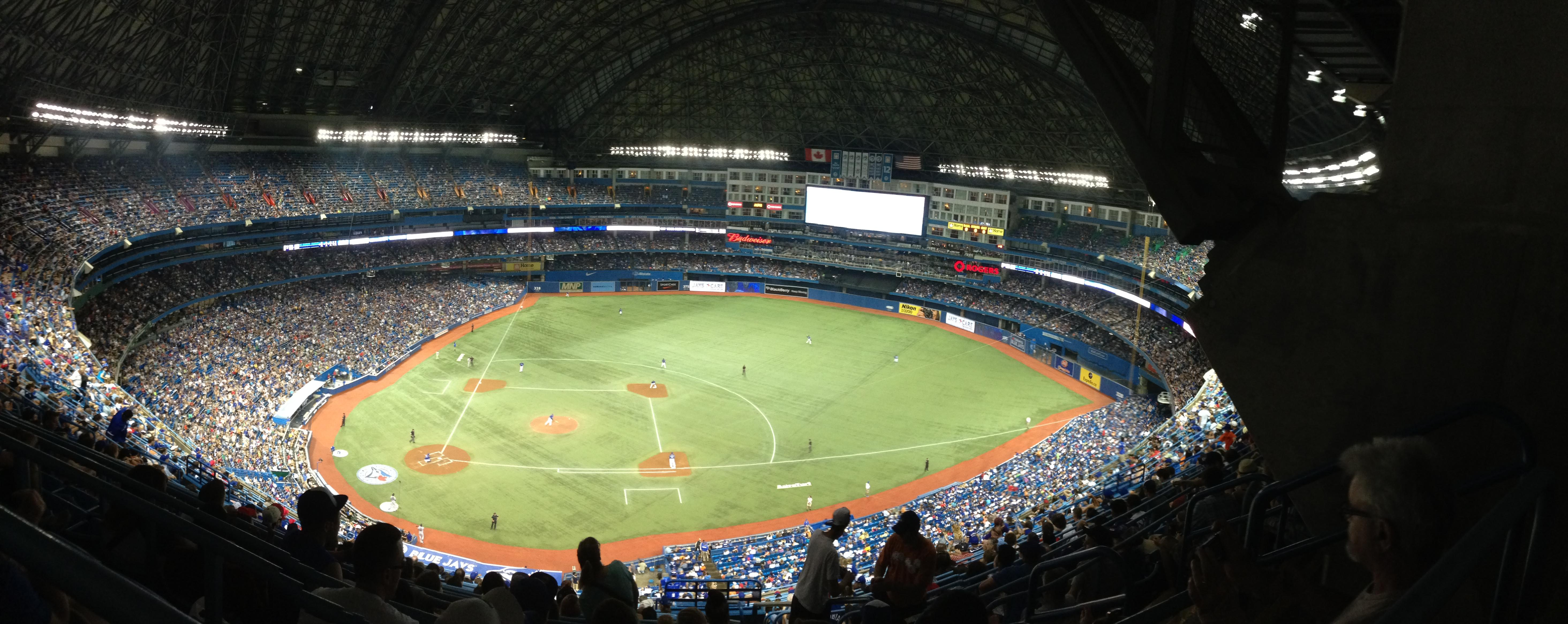 Rogers Centre Section 519L Row 21 Seat 106