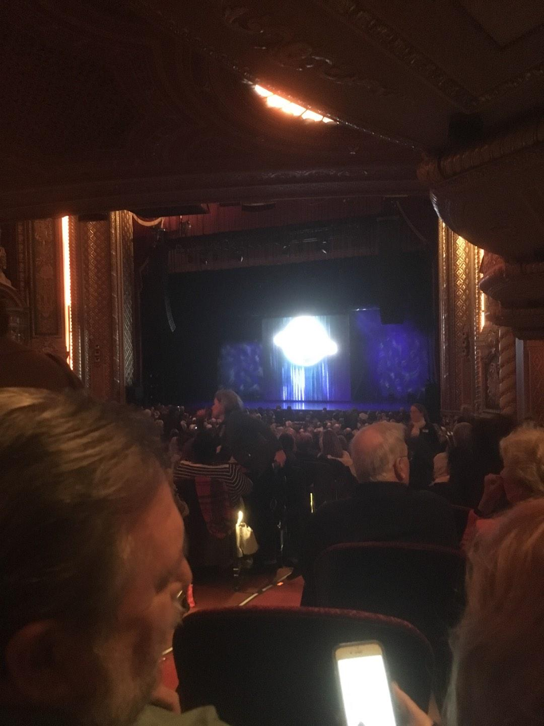 Wang Theatre Section Orchr Row Ddd Seat 32