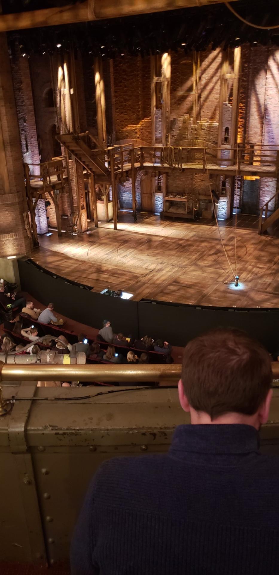 CIBC Theatre Section Mezzanine R Row B Seat 4