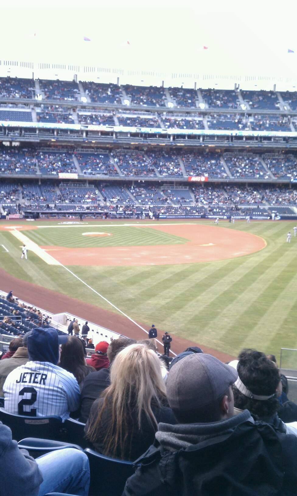 Yankee Stadium Section 209 Row 10 Seat 1