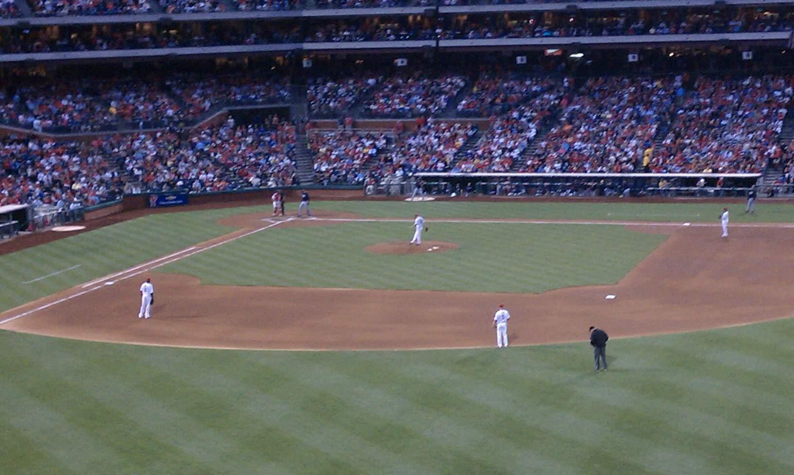 Citizens Bank Park Section 202 Row 1