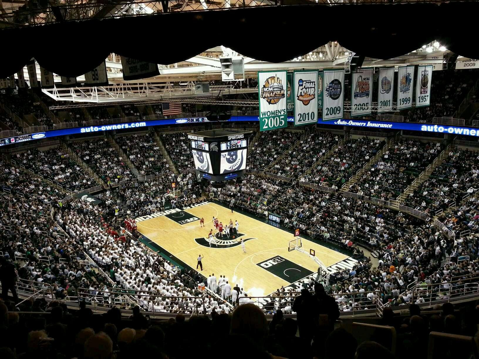 Breslin Center Section 204 Row 14 Seat 1