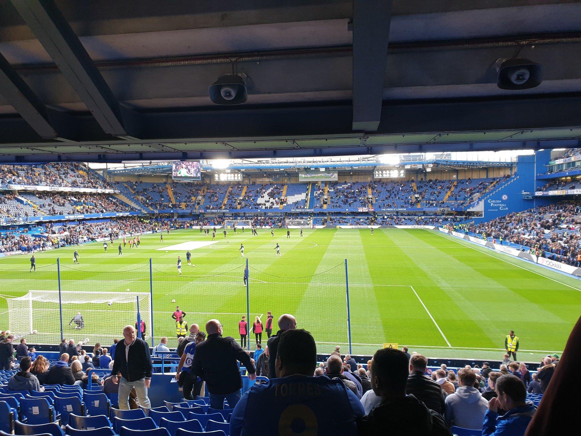 Stamford Bridge Section Matthew Harding Lower 11 Row EE Seat 47