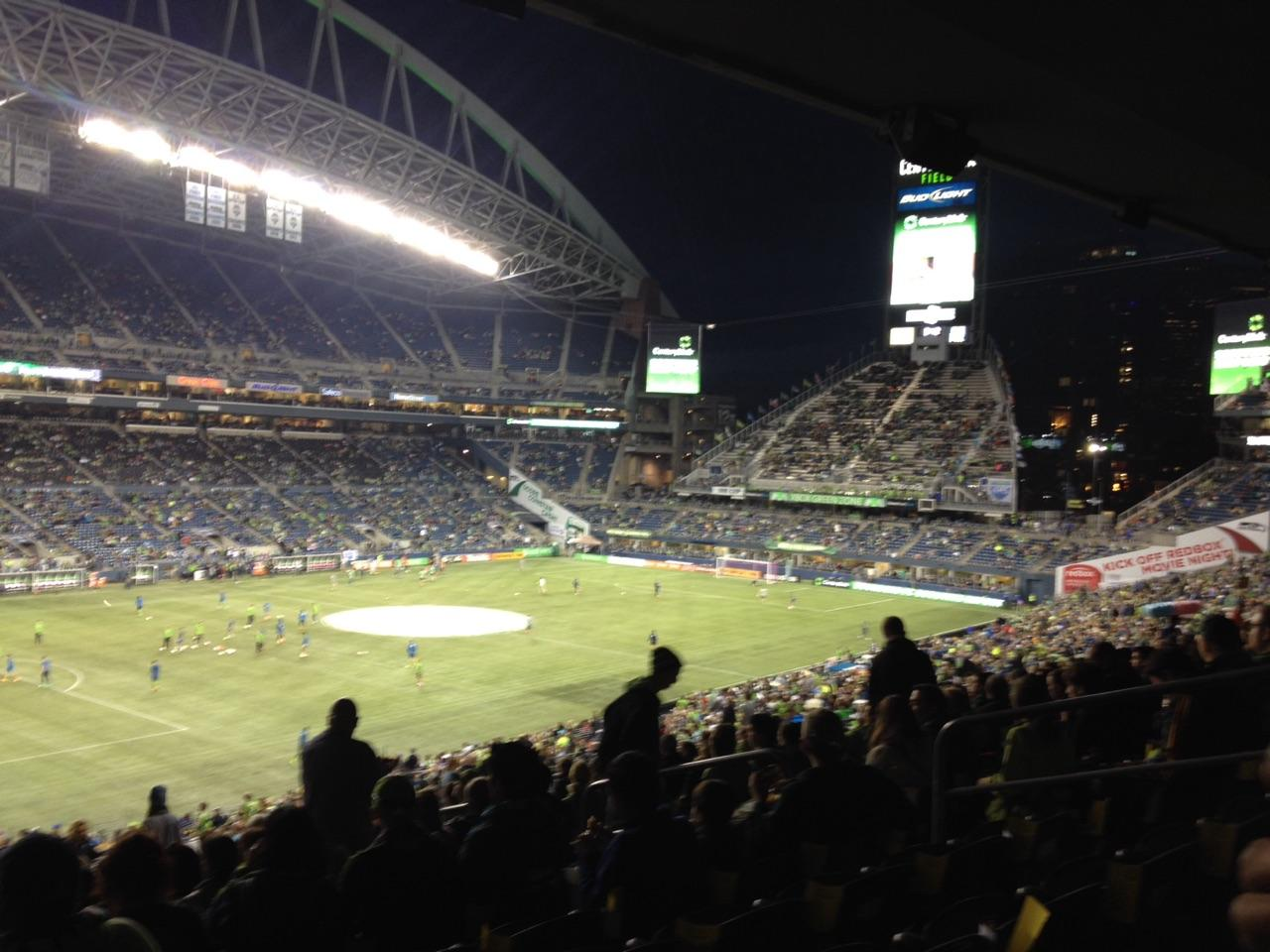 CenturyLink Field Section 215 Row Y Seat 7
