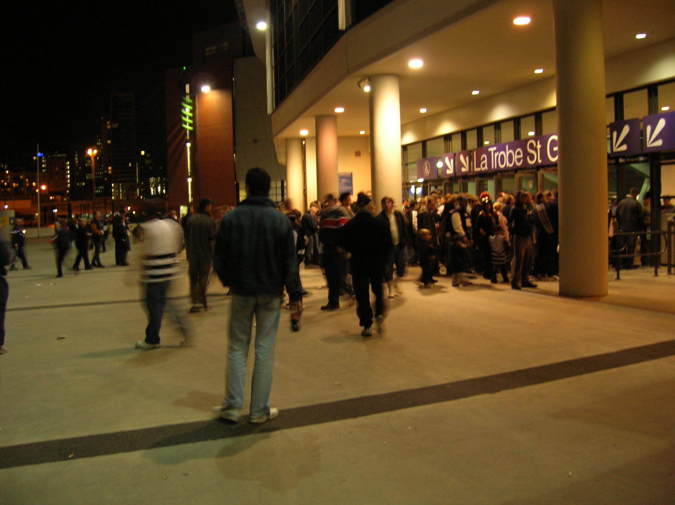 Marvel Stadium Section Outside Row La Trobe S