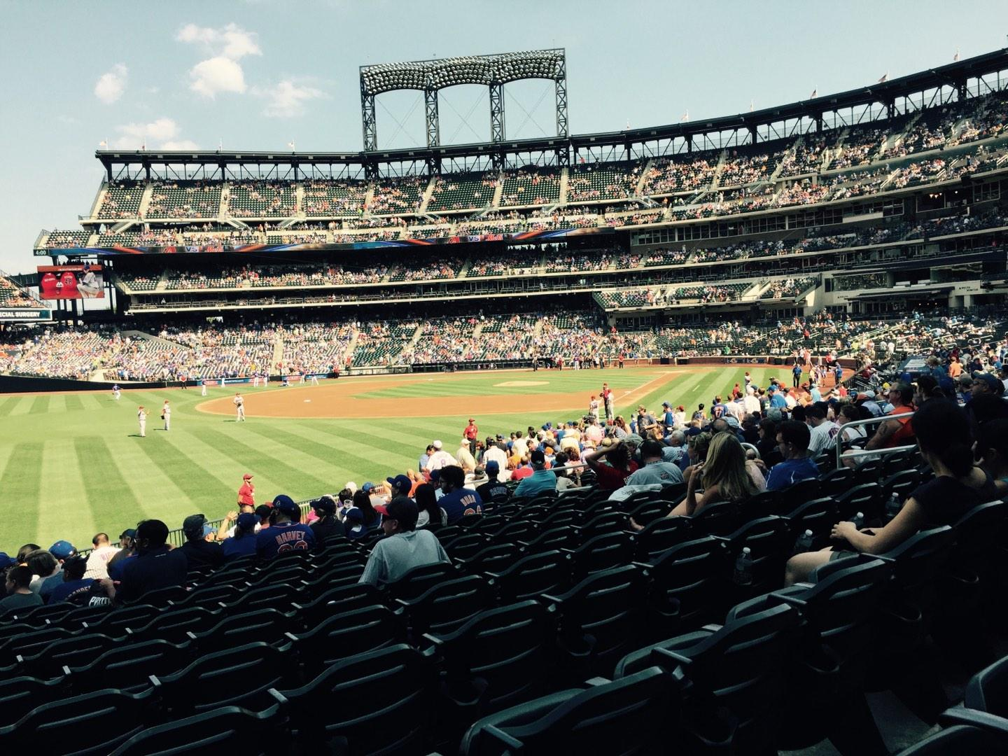Citi Field Section 129 Row 20 Seat 16