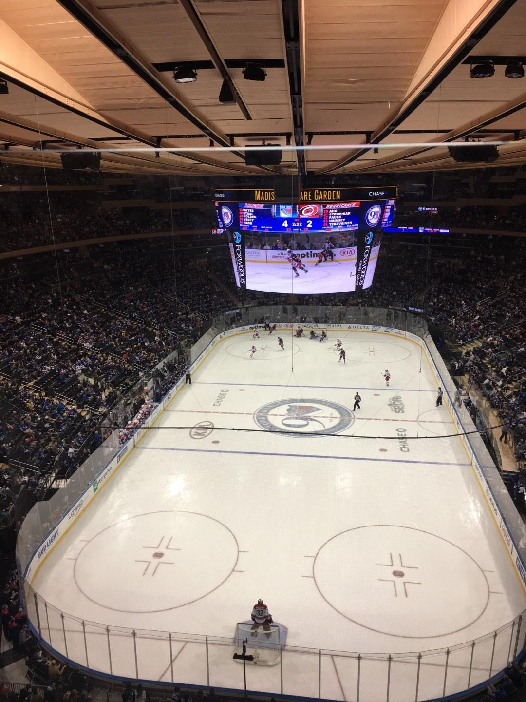 Madison Square Garden Section 320 Row 1 Seat 17