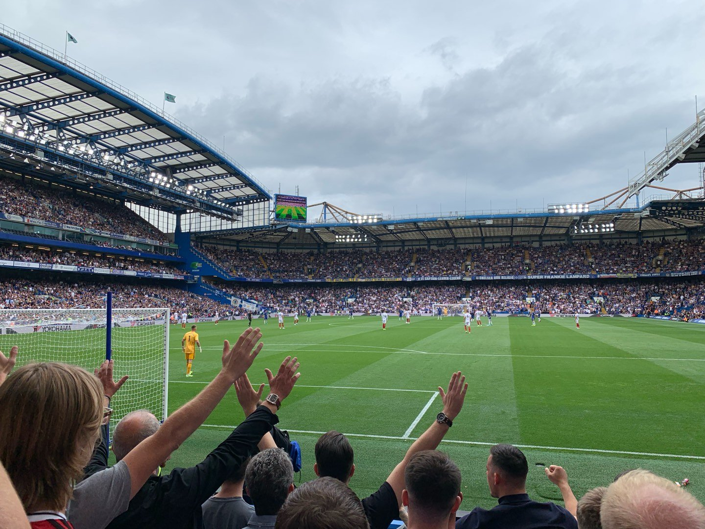Stamford Bridge Section Shed End Lower 3 Row 8 Seat 87