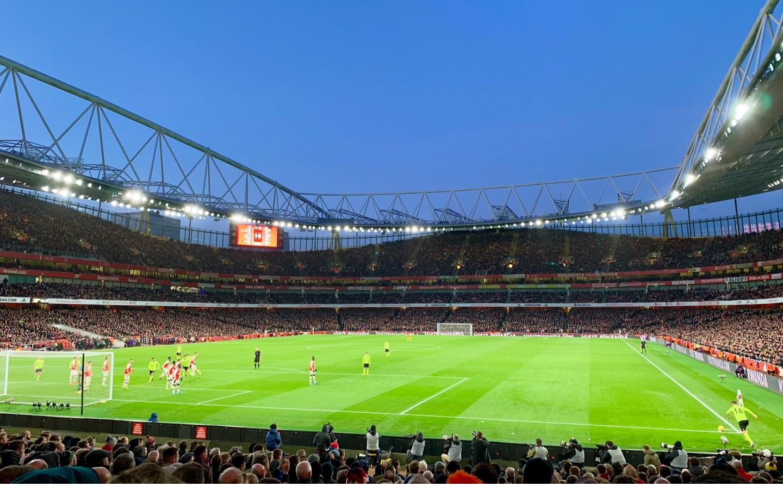 Emirates Stadium Section 23 Row 19 Seat 705