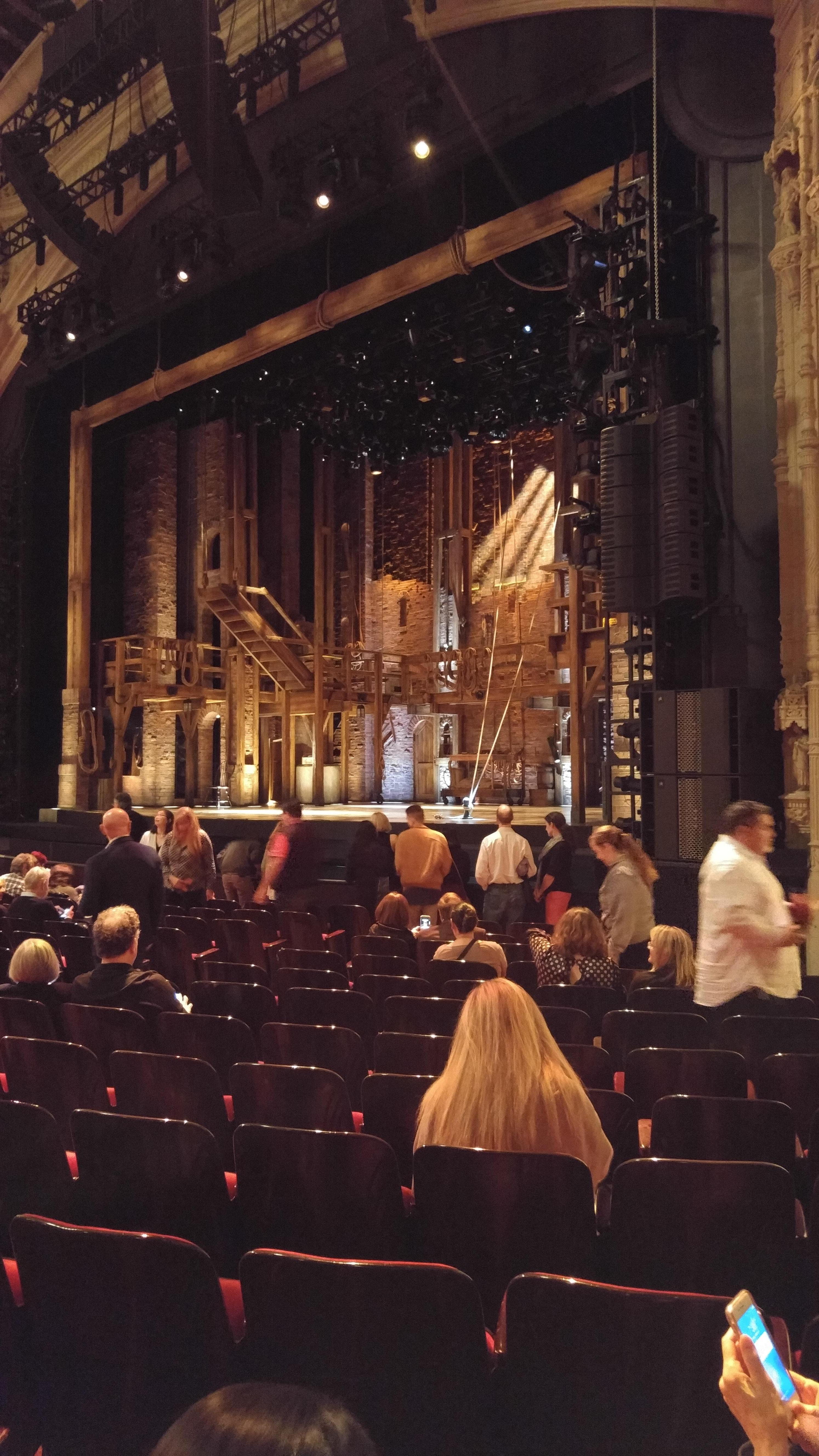 Orpheum Theatre (San Francisco) Section Orchestra R Row O Seat 20