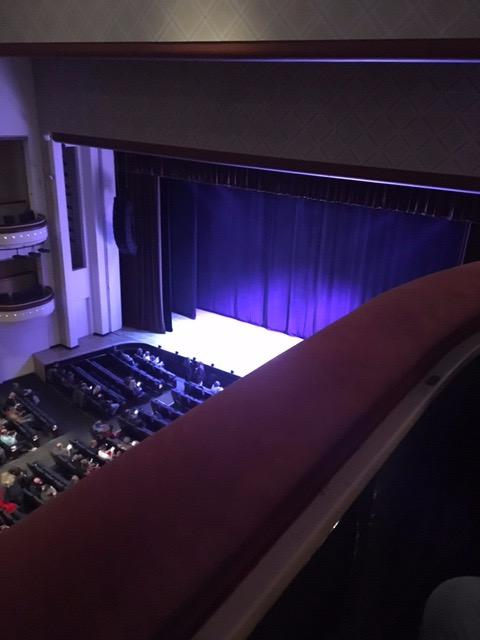Belk Theater Section Balcony Row RBX Seat 3