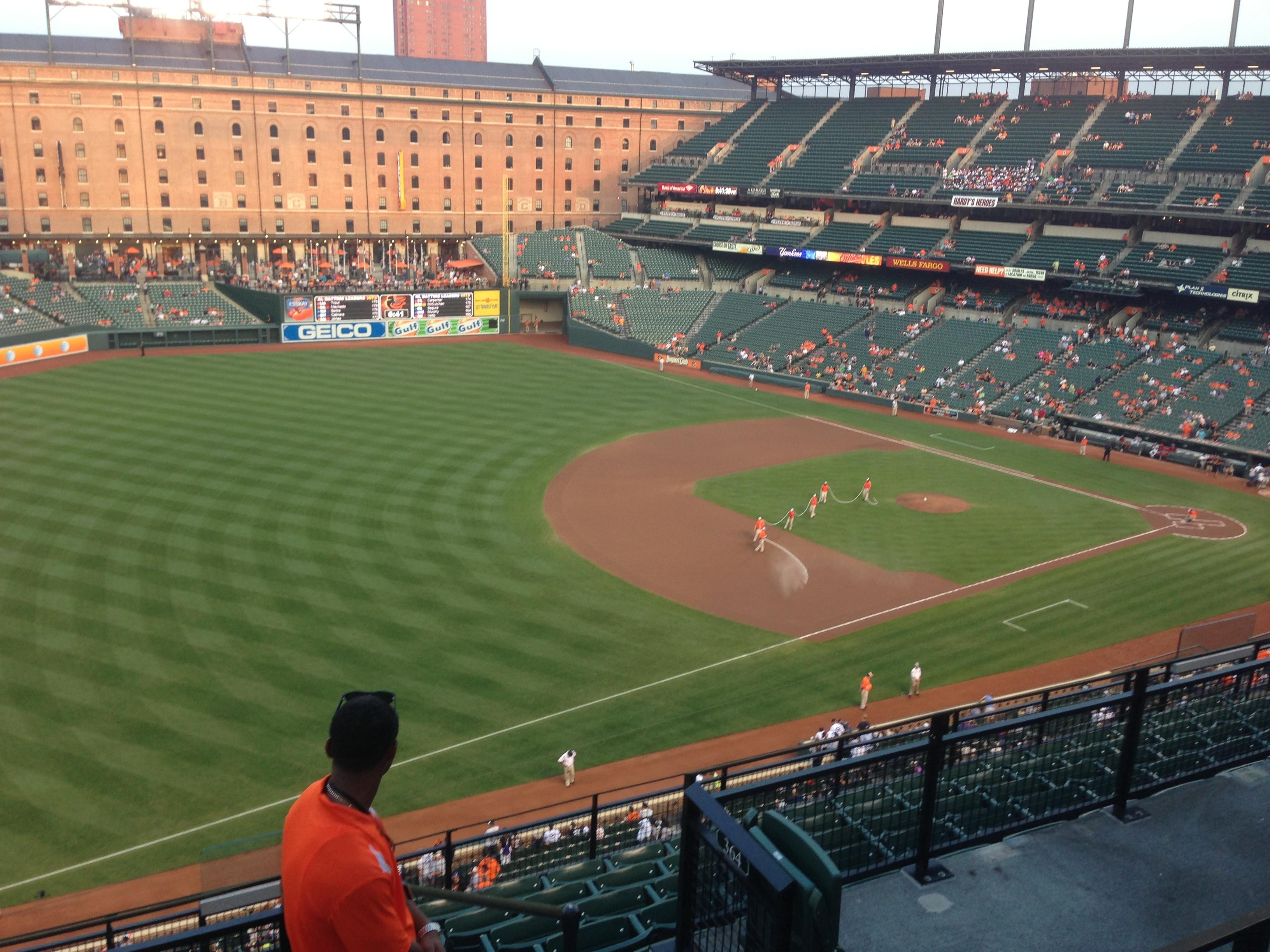 Oriole Park at Camden Yards Section 364 Row 11 Seat 10