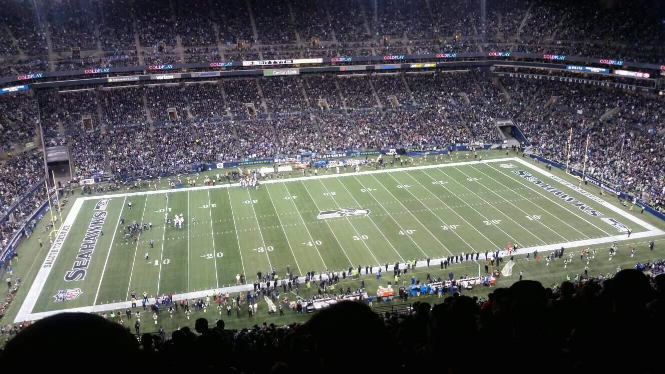 CenturyLink Field Section 337 Row II Seat 14