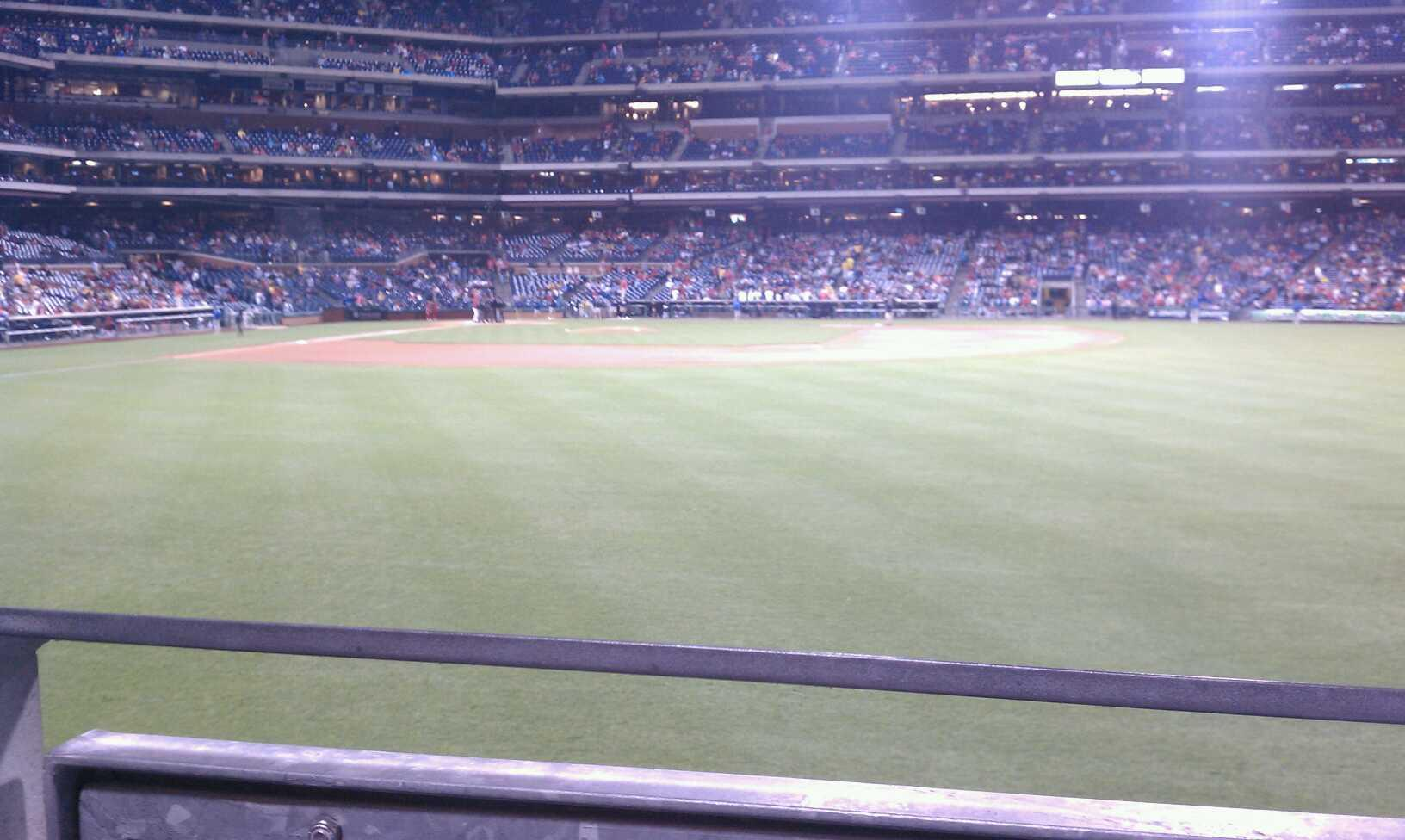 Citizens Bank Park Section 103 Row 1 Seat 16
