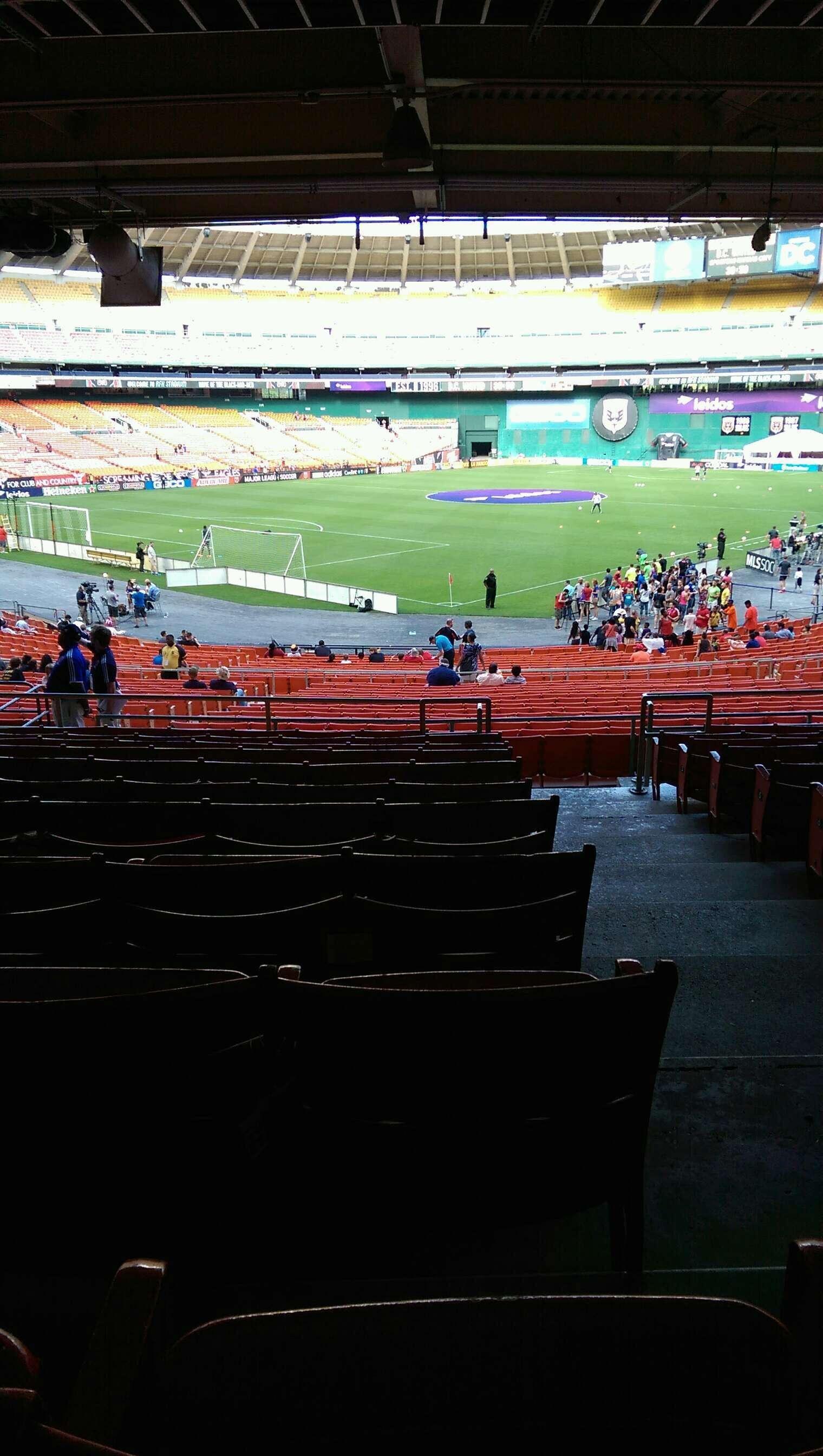 RFK Stadium Section 315 Row 11 Seat 1