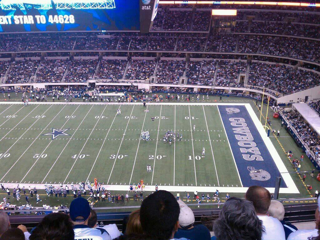 AT&T Stadium Section 410 Row 5 Seat 5