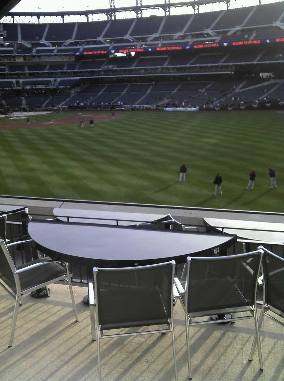 Citi Field Section 134 Row E Seat 2