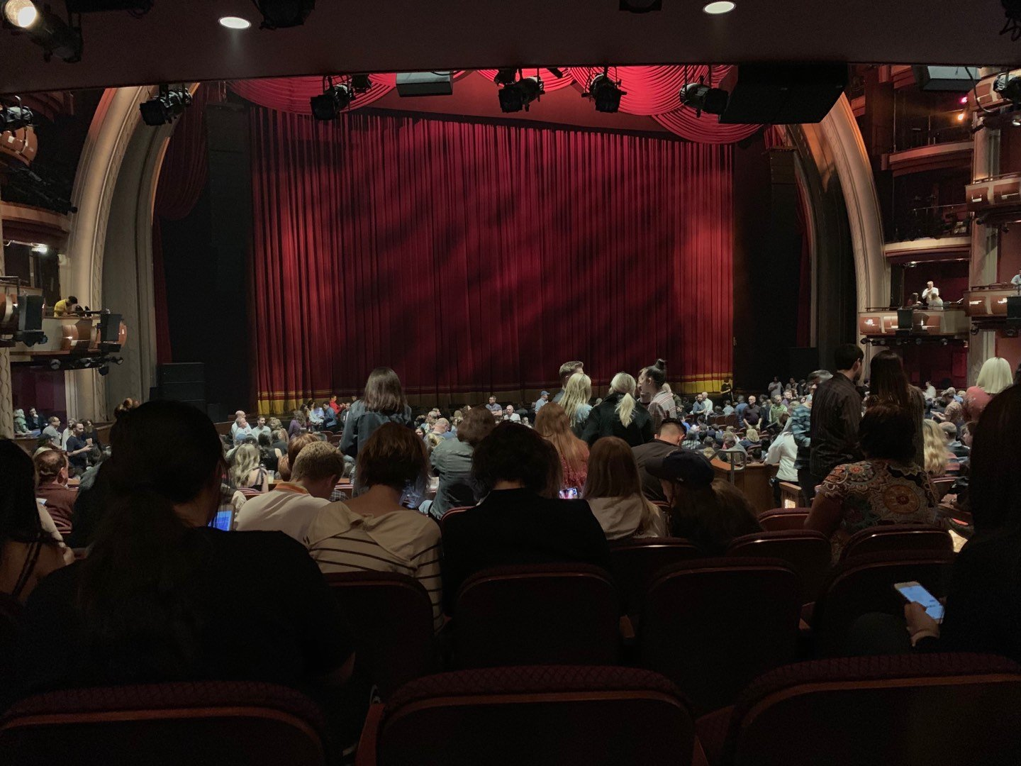 Dolby Theatre Section Parterre L Row K Seat 3