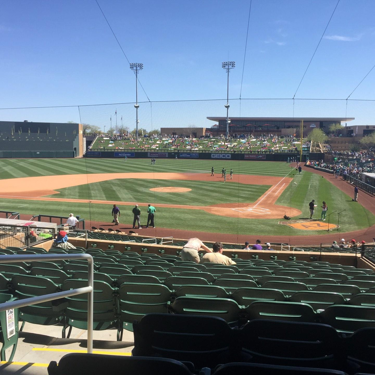 Salt River Fields Section 214 Row 14 Seat 9