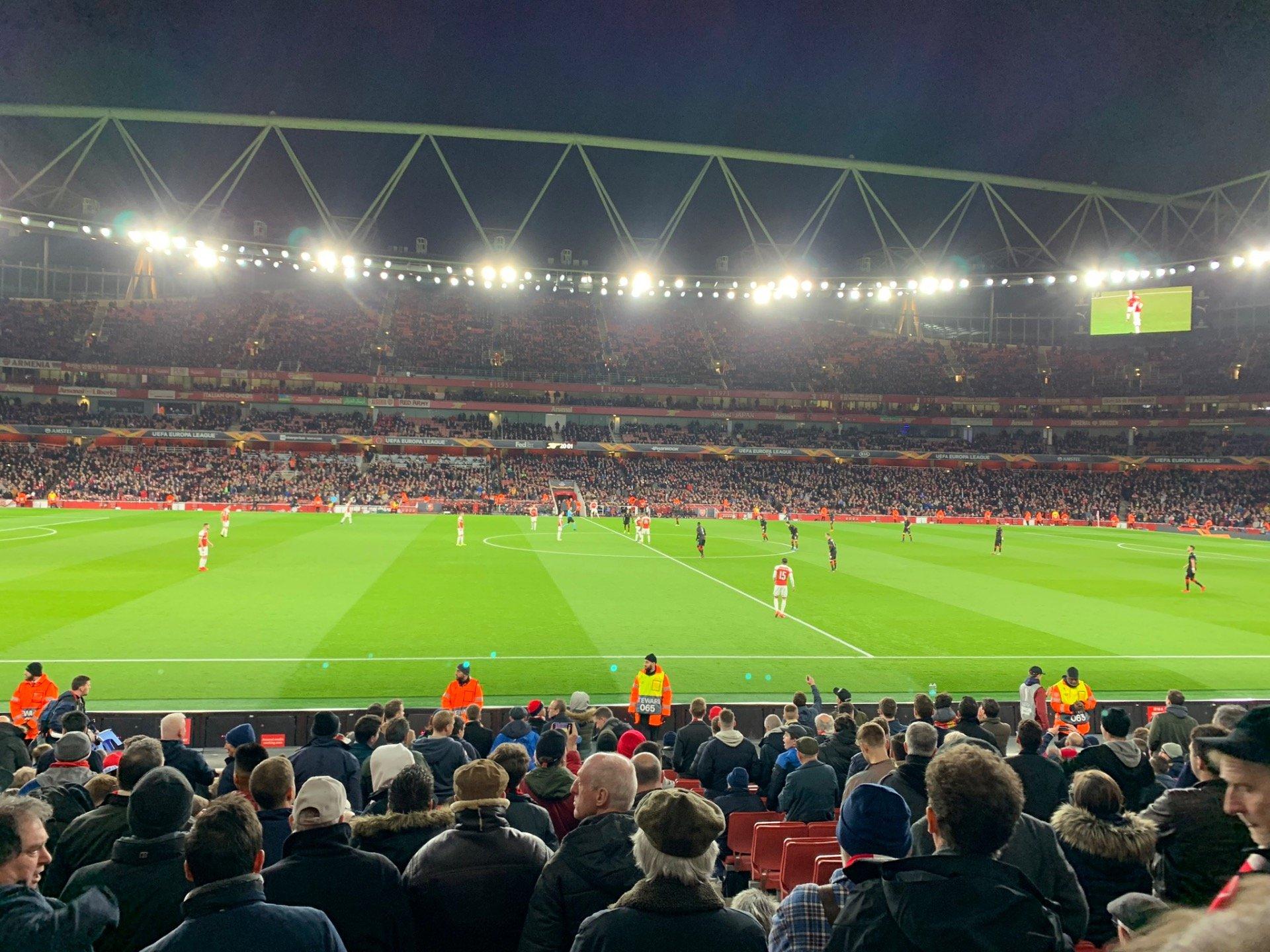 Emirates Stadium Section 17 Row 17 Seat 528