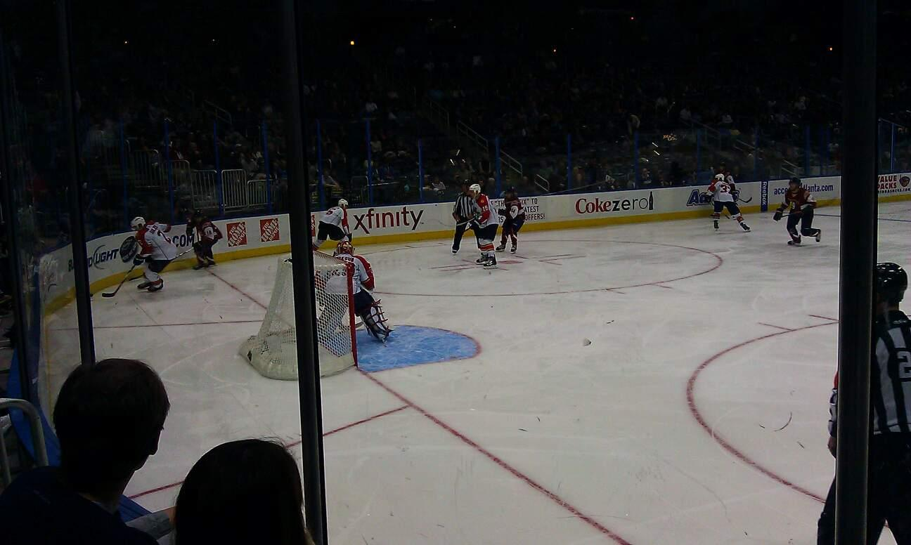 State Farm Arena Section 101 Row D Seat 5