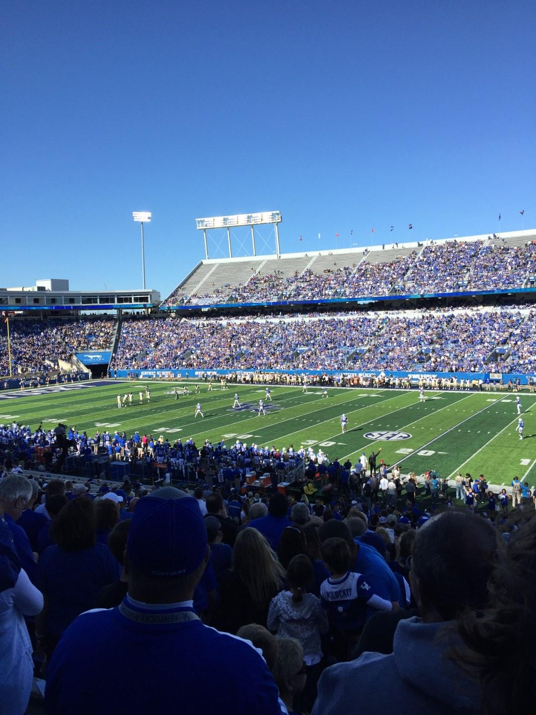 Kroger Field Section 29 Row 39 Seat 14