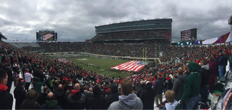 Spartan Stadium Section 4 Row 46 Seat 55