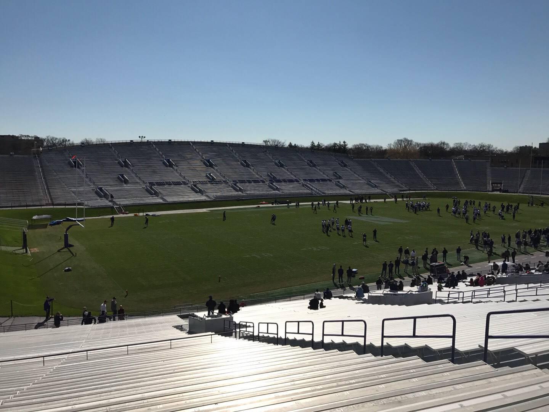 Ryan Field Section 134 Row 50 Seat 10
