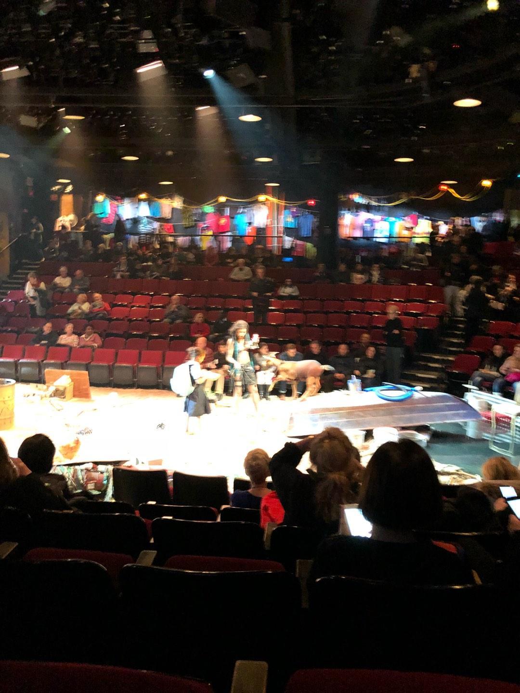 Circle in the Square Theatre Section Orchestra 200 (Odd) Row E Seat 215