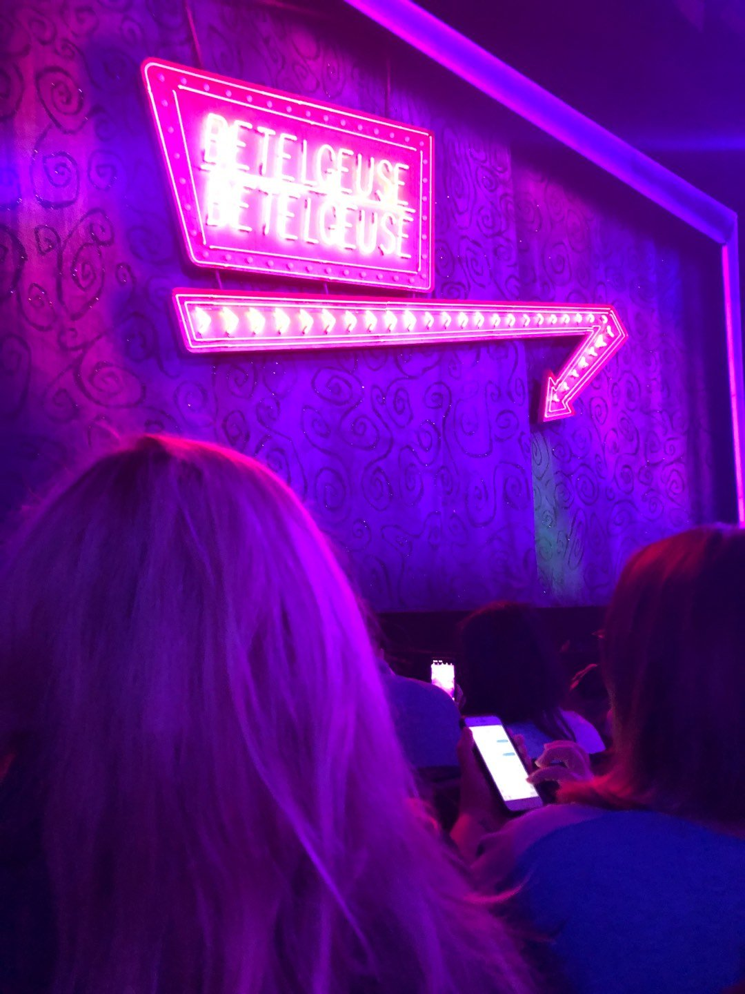 Winter Garden Theatre Section Orchestra L Row D Seat 7