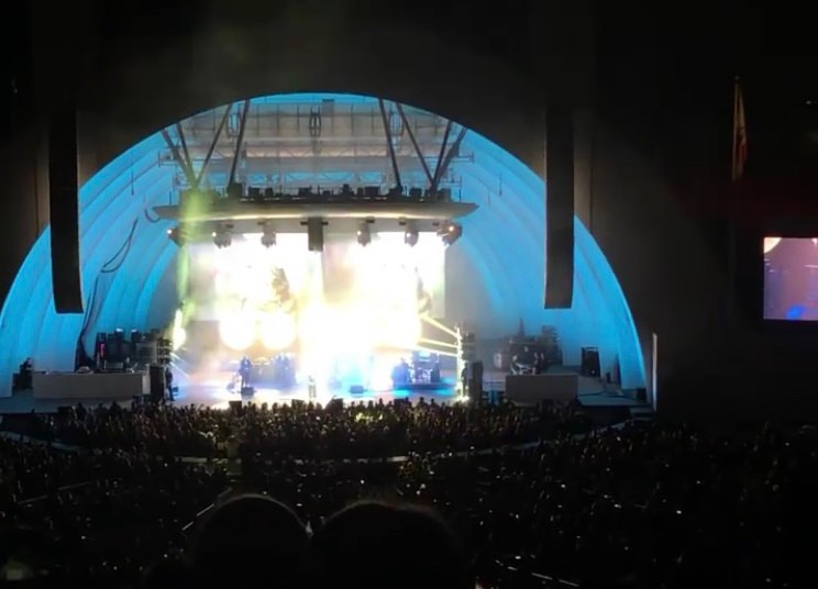 Hollywood Bowl Section G2 Row 5 Seat 2