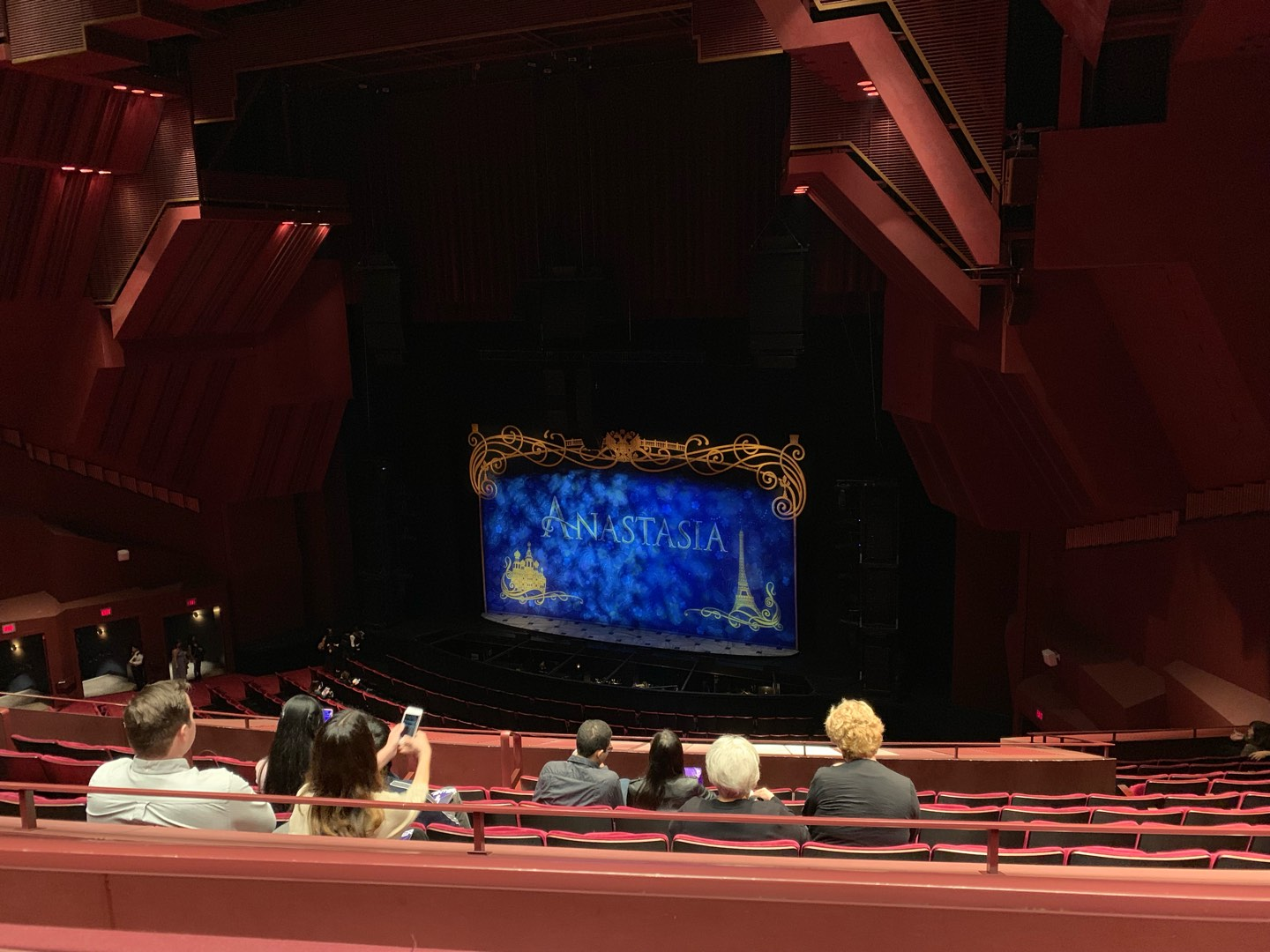 Segerstrom Hall Section Loge Row K Seat 119