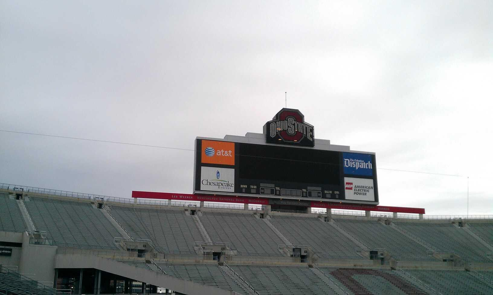 Seat View for Ohio Stadium