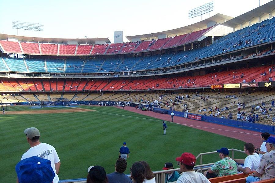 Dodger Stadium Section 303PL Row G Seat 106