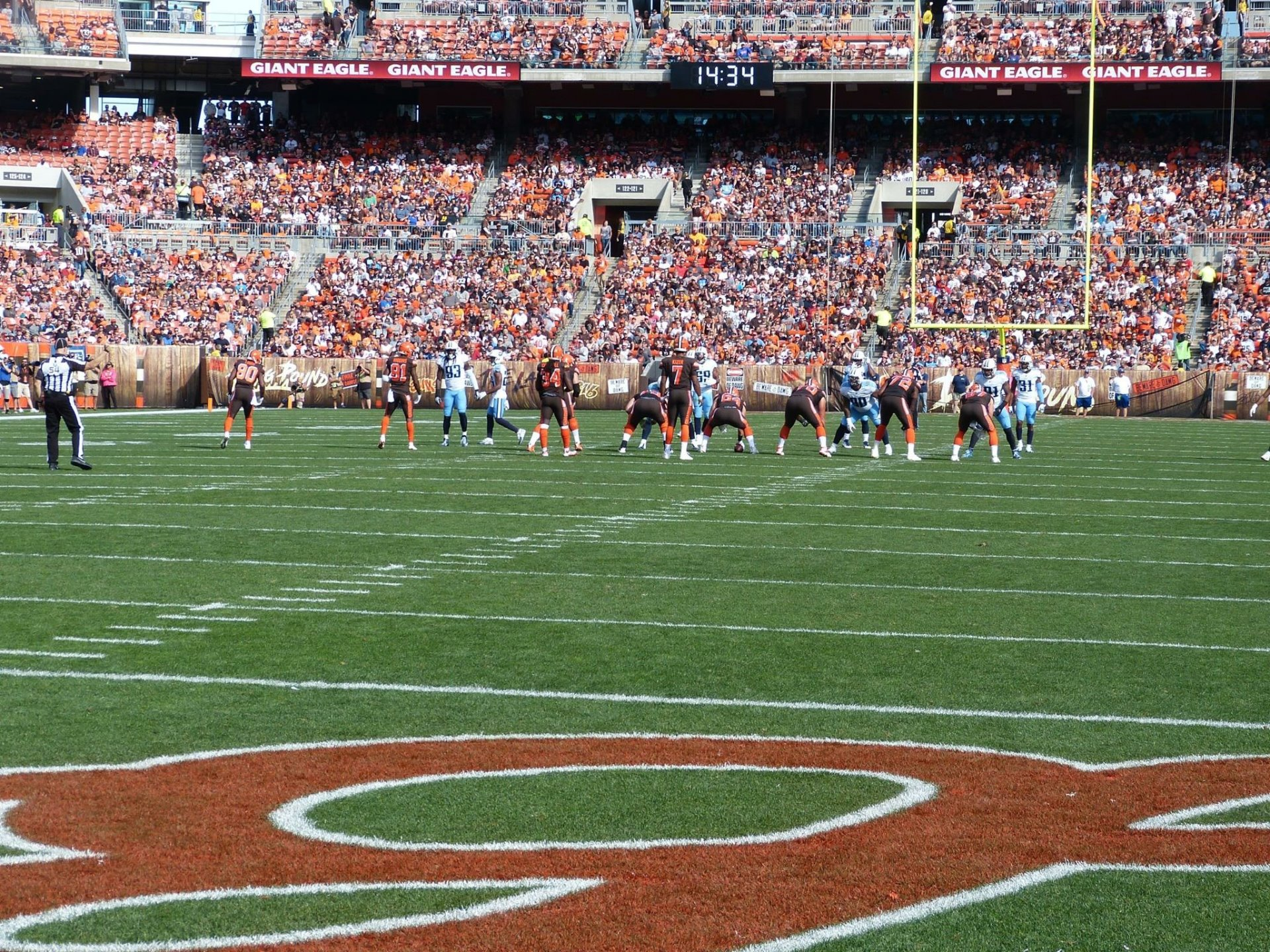 FirstEnergy Stadium Section 148 Row A Seat 7