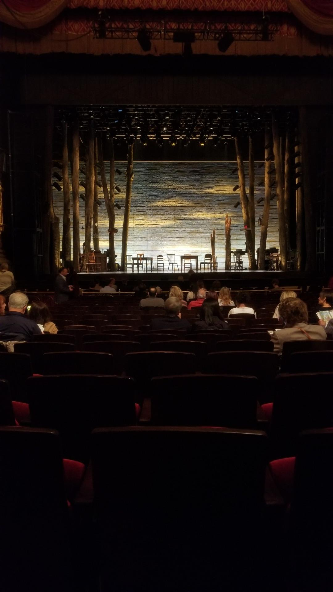 Academy of Music Section Parquet Circle F Row N Seat 109