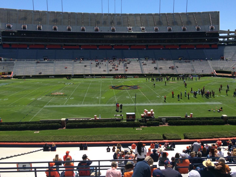 Jordan-Hare Stadium Section 5 Row 37 Seat 5