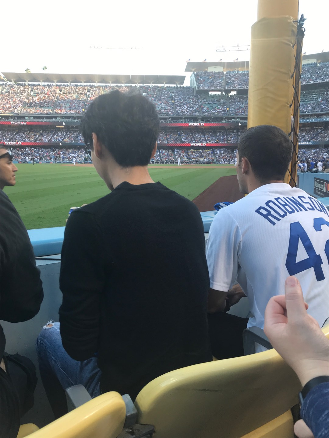 Dodger Stadium Section 49FD Row A Seat 14