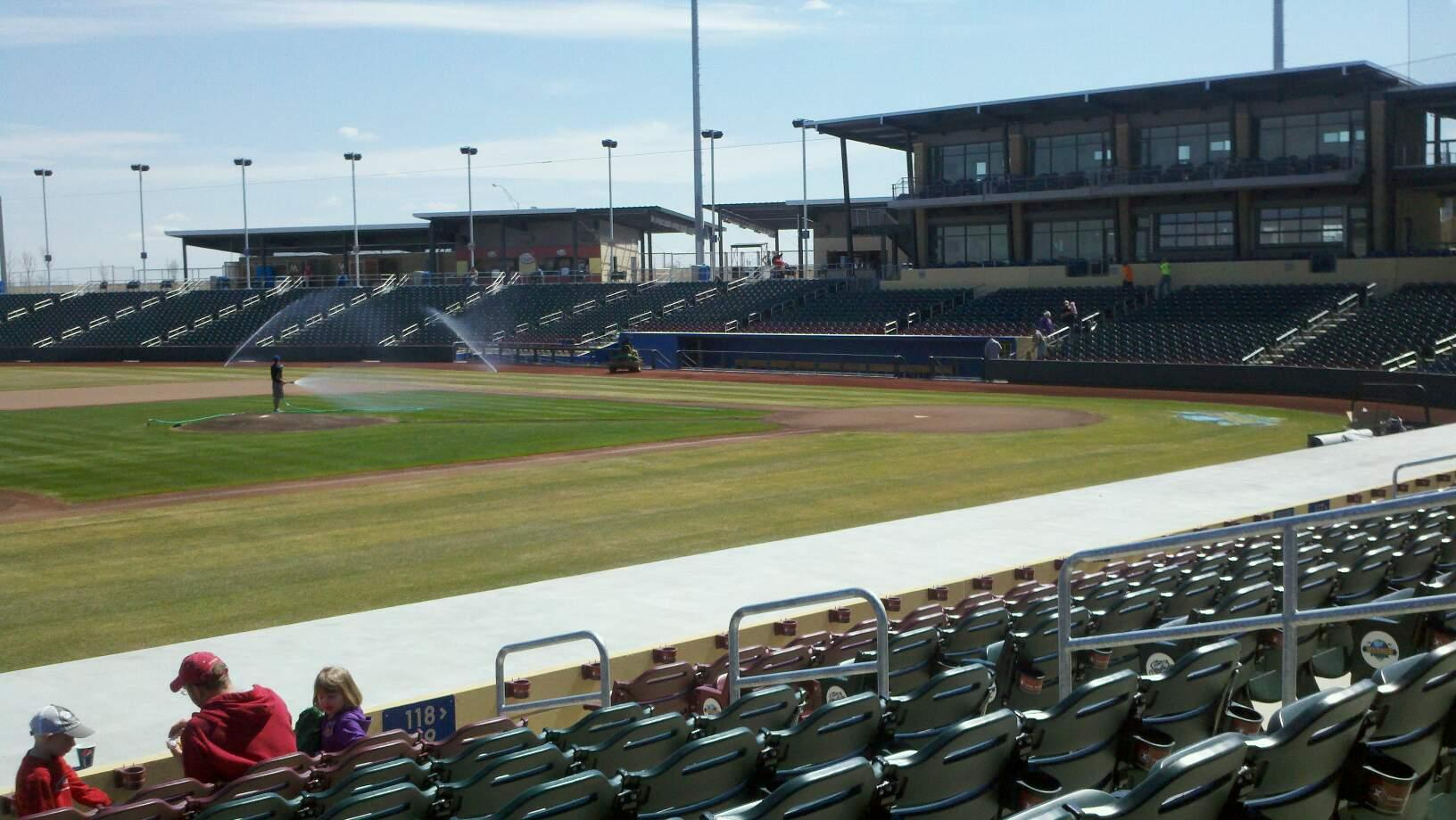 Werner Park Section 119 Row 14 Seat 9