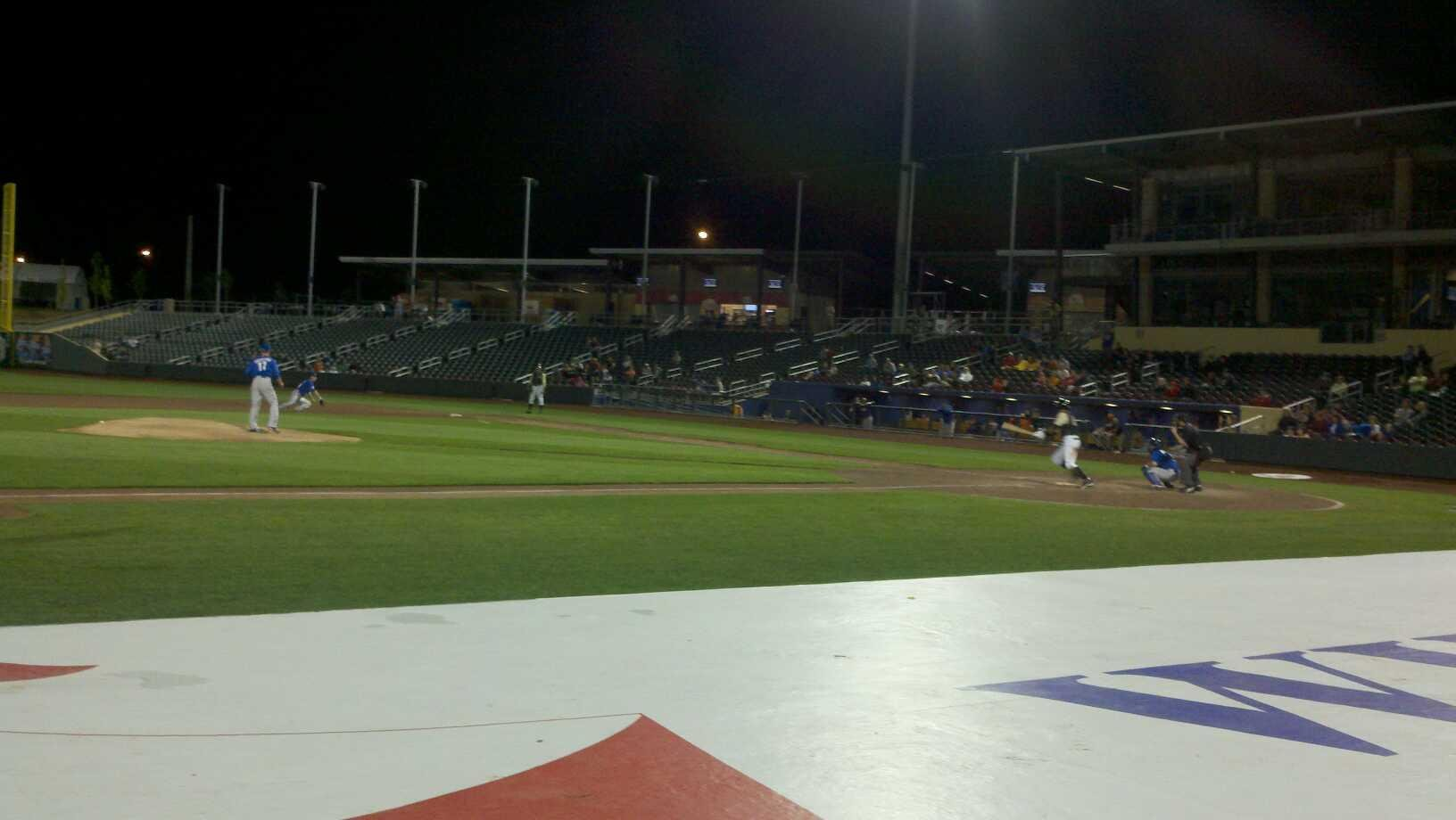 Werner Park Section 118 Row 6 Seat 8